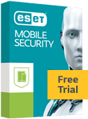 ESET Mobile Security Free Trial box